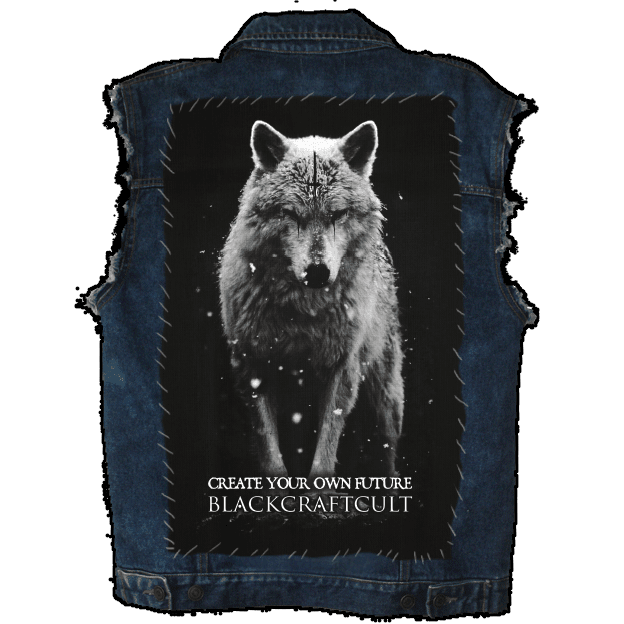 Lone Wolf - Back Patch