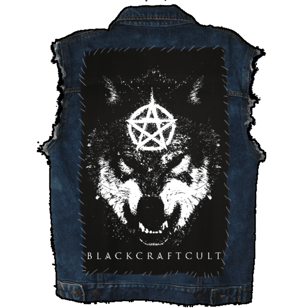 Wolf Star - Back Patch