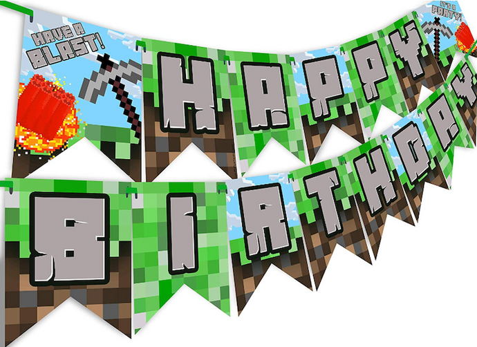 10 Neat Minecraft Birthday Party Favors