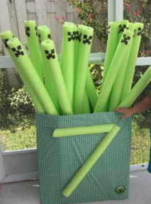 Minecraft Pool Noodle