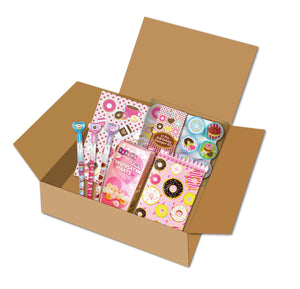 Donut Themed Gift Box for Kids and Tweens