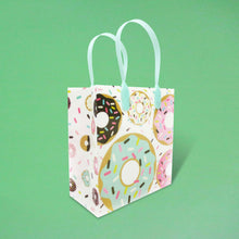 Load image into Gallery viewer, Donuts Party Favor Bags Treat Bags - Set of 6 or 12