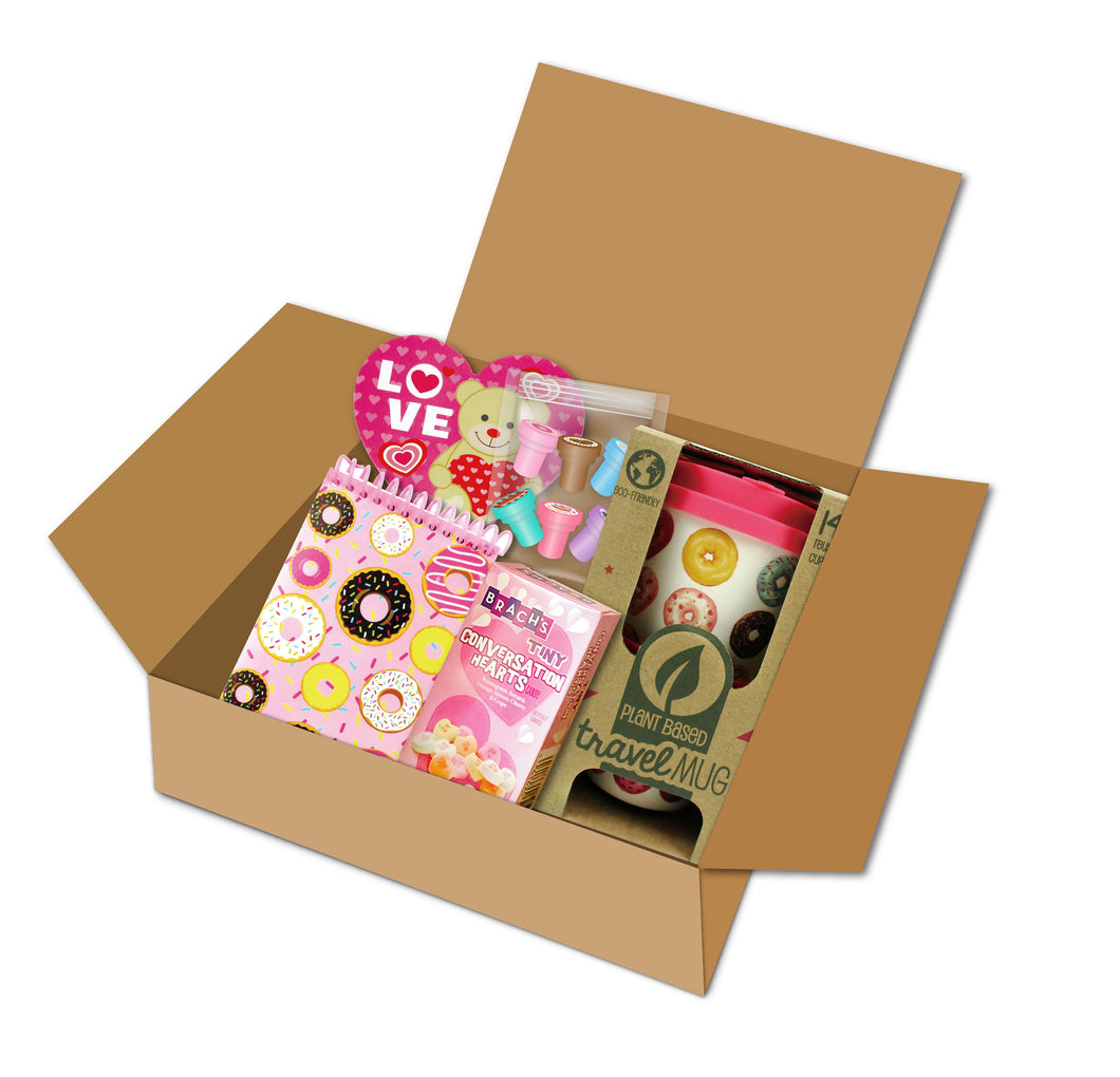 Donut Gift Box with Travel Mug