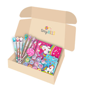 Unicorn Stationery Birthday Party Gift Boxes for Kids