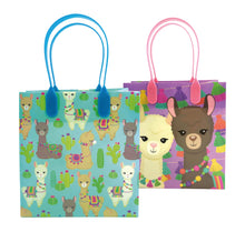 Load image into Gallery viewer, Llamas Party Favor Treat Bags, 12 Bags