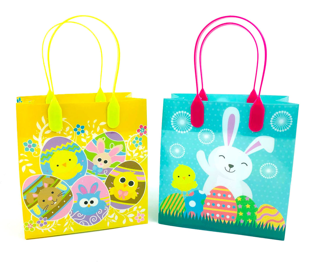 Easter Party Favor Treat Bags - Set of 6 or 12