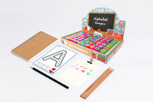 Alphabet Assorted Stampers for Kids - 60 Pcs