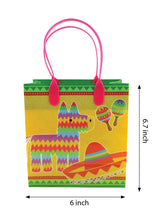 Fiesta Themed Party Favor Bags Treat Bags, 12 Pack $ 12.99 Tiny Mills®