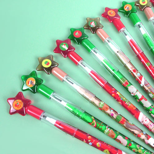 Christmas Llamas Alpacas Multi Point Pencils