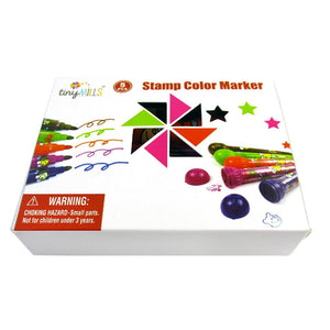5 Pcs Assorted Stamper Marker Set - Coloring Books | Tiny Mills®