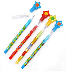Building Blocks Brick Multi Point Pencils - 24 Pieces $ 10.99 Tiny Mills®