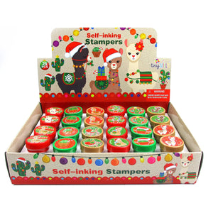 Christmas Llamas Alpacas Stampers