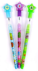 Monsters Multi Point Pencils - 24 Pieces