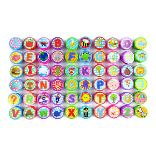 Alphabet Assorted Stampers for Kids - 60 Pcs $ 12.99 Tiny Mills®