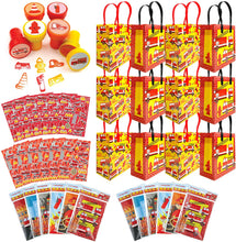 Load image into Gallery viewer, Fire Trucks Party Favor Bundle for 12 Kids
