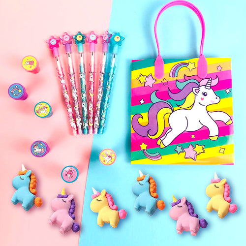Unicorn Party Favor Bundle for 12 Kids