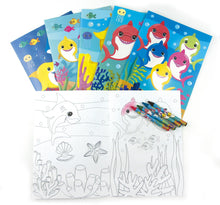 Load image into Gallery viewer, Shark Family Birthday Party Gift Boxes for Kids