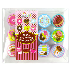 Donuts Stamp Kit for Kids - 12 Pcs