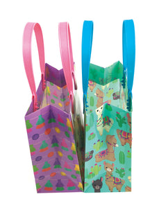 Llamas Party Favor Treat Bags, 12 Bags