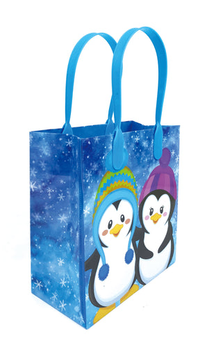 Penguins Party Favor Treat Bags - Set of 6 or 12