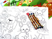 Load image into Gallery viewer, Woodland Animals Coloring Books - Set of 6 or 12