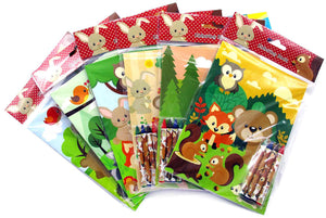 Woodland Animals Coloring Books - Set of 6 or 12