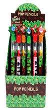 Load image into Gallery viewer, Pixels Mine Crafter Themed Multi Point Pencils - 24 Pcs
