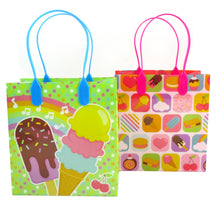 Load image into Gallery viewer, Ice Cream Party Favor Treat Bags - Set of 6 or 12