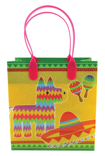 Fiesta Themed Party Favor Bags Treat Bags, 12 Pack $ 10.99 Tiny Mills®