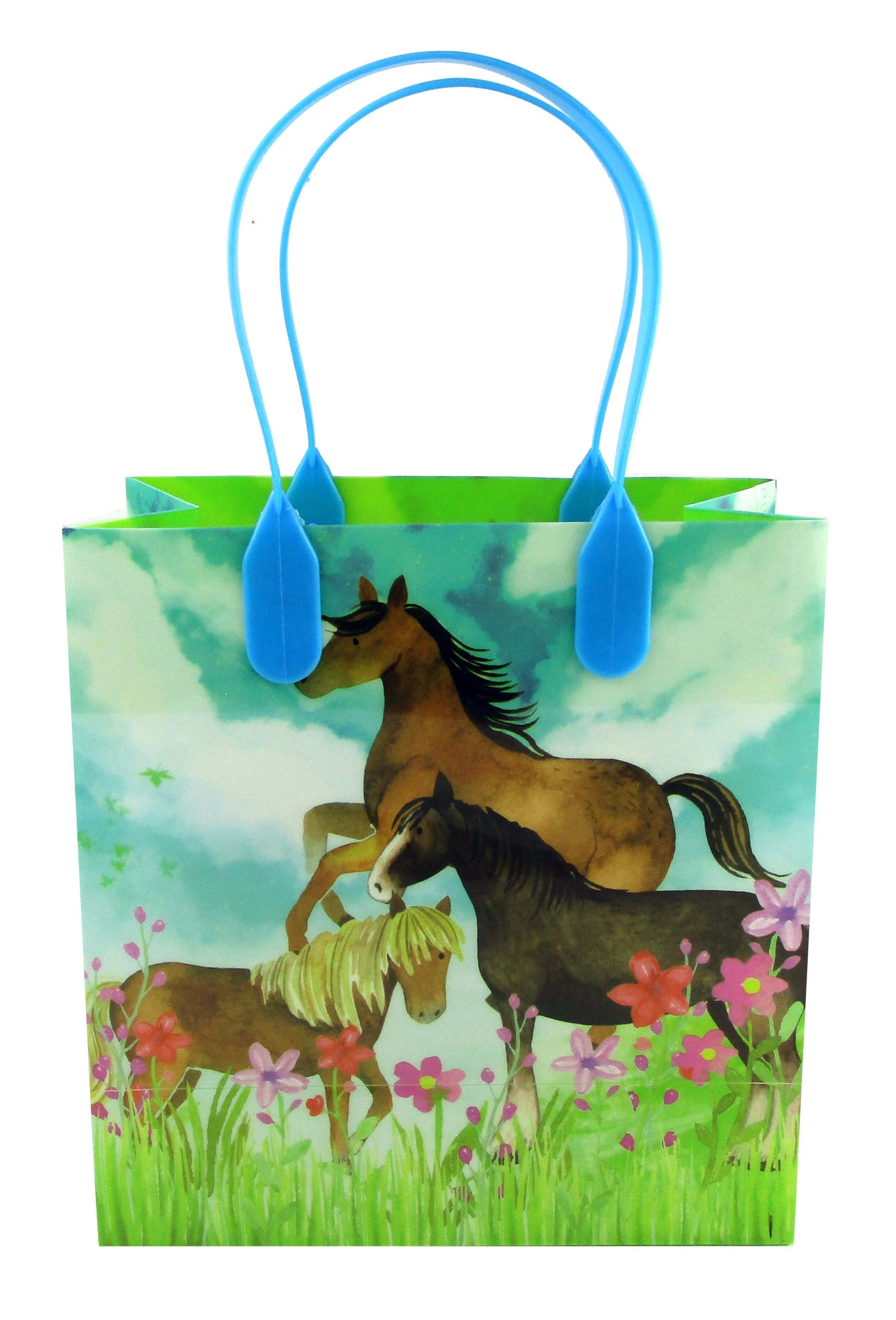 Horse And Pony Themed Party Favor Treat Bags Set Of 6 Or 12 Tiny Mills