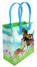 Load image into Gallery viewer, Horse and Pony Themed Party Favor Treat Bags - Set of 6 or 12