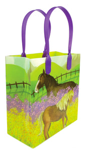 Horse and Pony Themed Party Favor Treat Bags - Set of 6 or 12