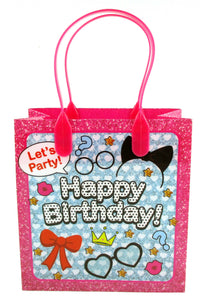 Surprise Doll Birthday Party Favor Bags Treat Bags, 12 Pack