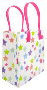 Rainbow Themed Party Favor Treat Bags - Set of 6 or 12