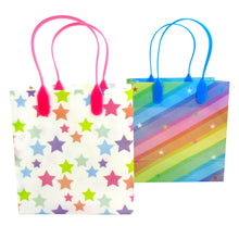 Load image into Gallery viewer, Rainbow Themed Party Favor Treat Bags - Set of 6 or 12