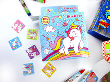 Load image into Gallery viewer, Unicorn Stationery Birthday Party Gift Boxes for Kids