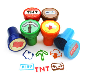 Pixels Miner Themed Party Favor Bundle for 12 Kids $ 19.99 Tiny Mills®