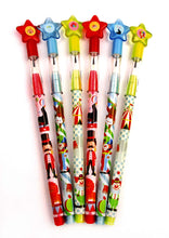 Load image into Gallery viewer, Circus Carnival Multi Point Pencils - 24 Pieces