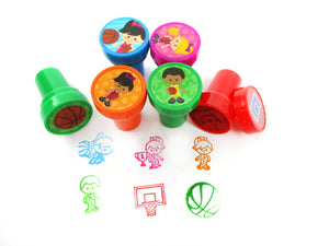 Basketball Stampers for Kids - 24 Pcs - Stamps | Tiny Mills®