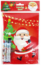 Load image into Gallery viewer, Christmas Holidays Coloring Books with Crayons - Set of 6 or 12