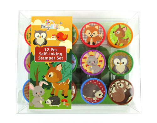 Woodland Creatures Stamp Kit
