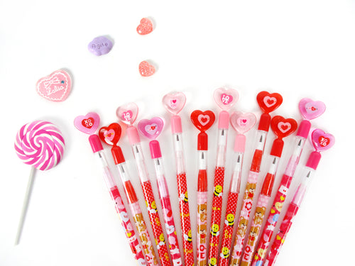 Valentine's Day Multi Point Pencils