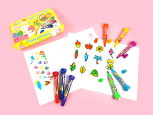 Easter Stamp Marker Set - Set of 10 - Coloring Books | Tiny Mills®