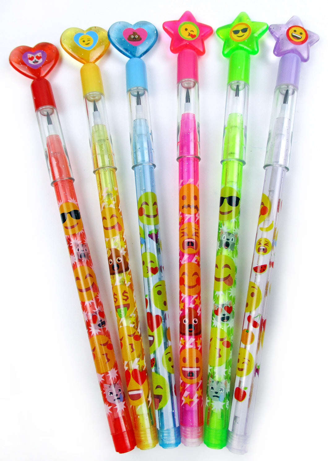 Emoji Multi Point Pencils - 24 Pcs - Pencils | Tiny Mills®
