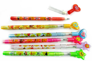 Emoji Multi Point Pencils - 24 Pcs