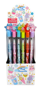 TINYMILLS 24 Pcs Unicorn Desserts Multi Point Pencils
