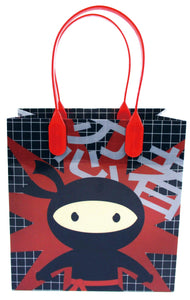 Ninja Themed Party Favor Bags Treat Bags, 12 Pack $ 12.99 Tiny Mills®