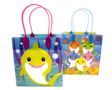 Load image into Gallery viewer, Shark Family Themed Party Favor Bags Treat Bags - Set of 6 or 12