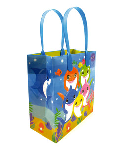 Shark Family Themed Party Favor Bags Treat Bags - 12 Pack $ 12.99 Tiny Mills®