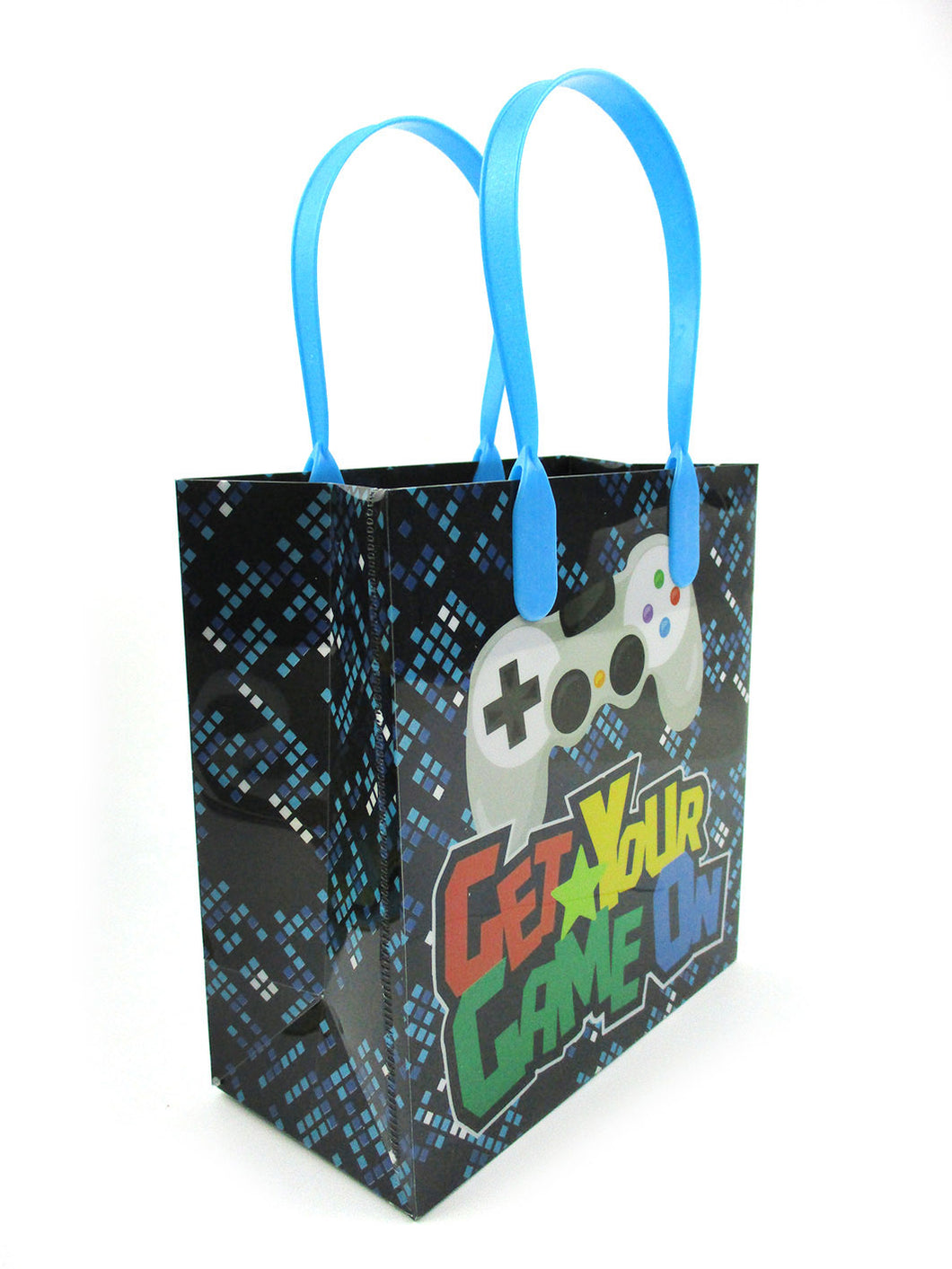 Video Game Themed Party Favor Bags Treat Bags, 12 Pack - Paper Bags | Tiny Mills®